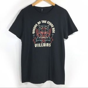 Queens Of The Stone Age T Shirt Villains Official